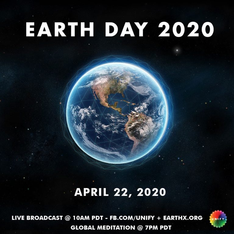 Please join us TODAY: Earth Day UNIFY Webcast